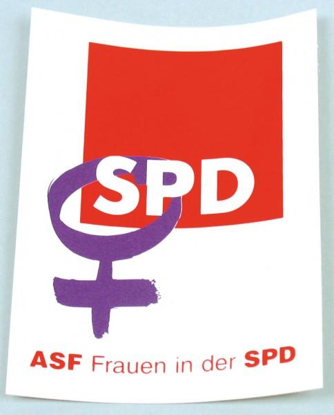 Aufkleber - Frauen in der SPD