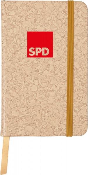 Notizbuch Korkmotiv - SPD
