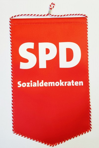 Stammtischwimpel - Tischbanner - SPD