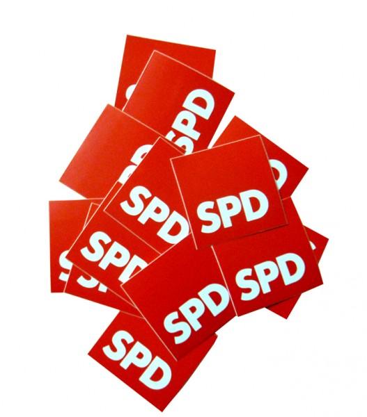 Aufkleber - Blumenaufkleber - SPD