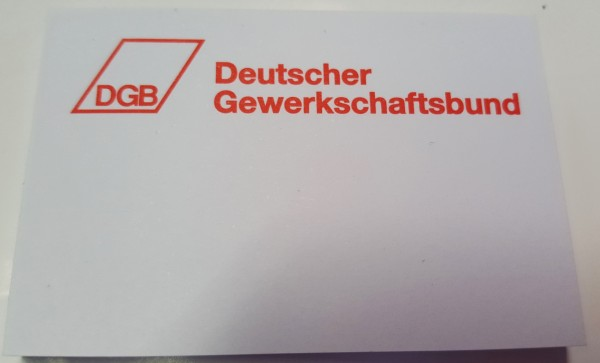 Haftnotizblock - DGB