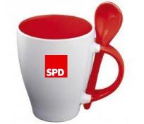 Kaffeebecher - Keramik - SPD