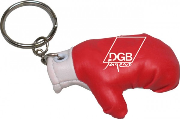 Schlüsselanhänger Boxhandschuh - DGB