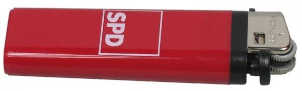 Feuerzeug Einweg rot - SPD