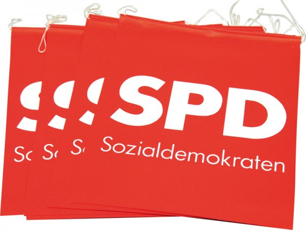 Fahnenkette - SPD