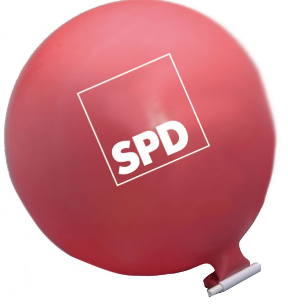 Riesenballon - SPD