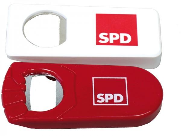 Flaschenöffner weiß - SPD