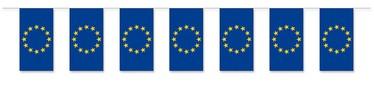 Fahnenkette Europa