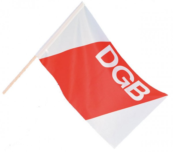 Kleinfahne - DGB
