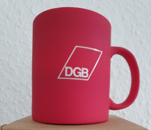 Keramiktasse rot - DGB