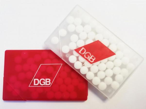 Pfefferminzbox weiß - DGB