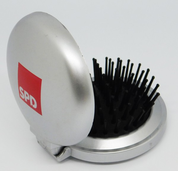 Haarbürste mit Spiegel - SPD *