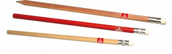 Bleistift mit Radierer natur - IGM