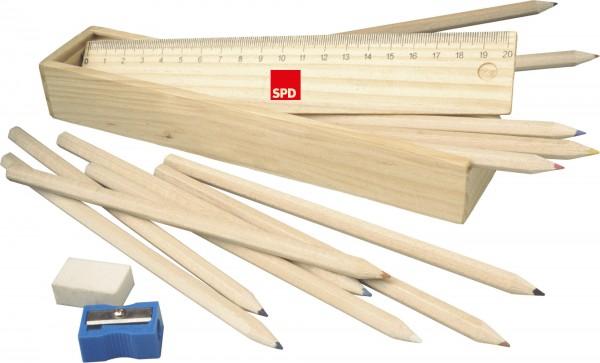 Buntstifte Holzbox - SPD