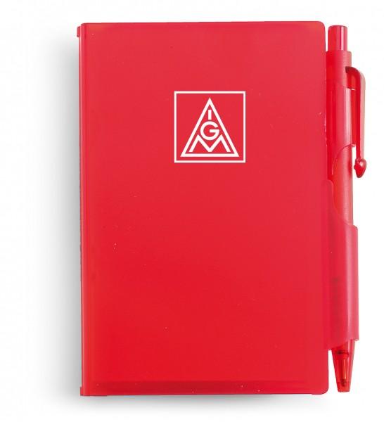 Notizbuch mit Kugelschreiber - IGM