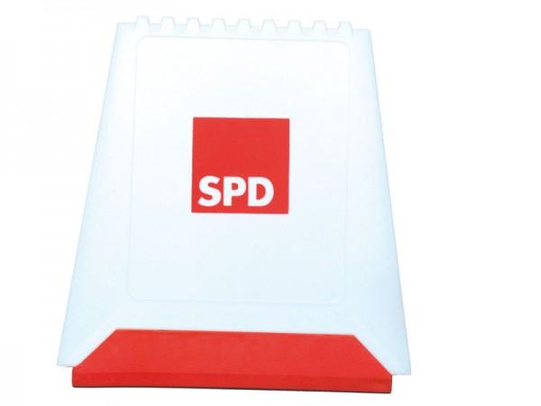 Eiskratzer weiß- rote Lippe - SPD