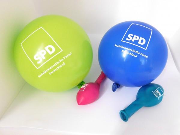 Luftballon bunt - SPD
