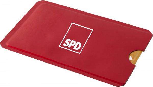 Kreditkartenhülle Alu - SPD