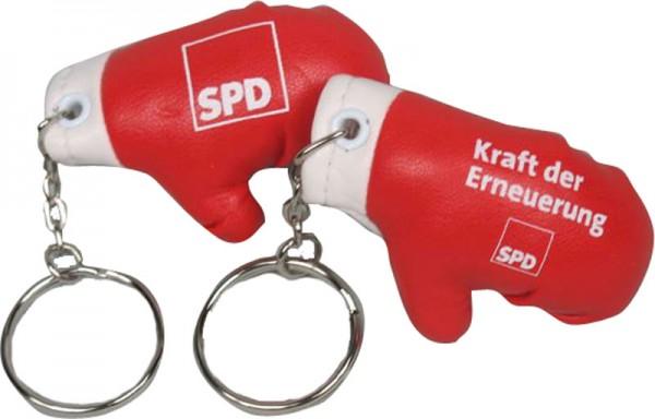 Schlüsselanhänger Boxhandschuh - SPD *