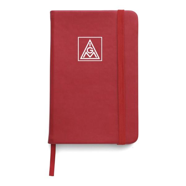 Notizbuch PU rot DIN A6 - IGM