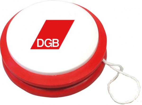 Jo Jo rot - weiß - DGB