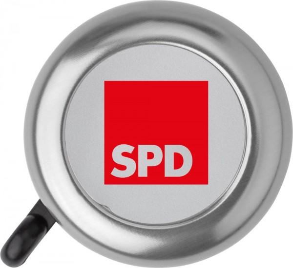 Fahrradklingel silber - SPD