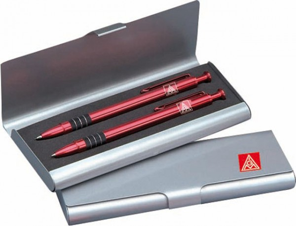 Schreibetui Metall 1 Stift - IGM