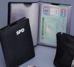 Scheckkartenmäppchen - SPD