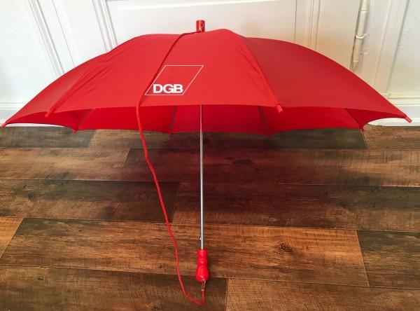 Regenschirm rot - DGB